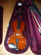 ALFRED STINGL HOFNER AS-060 3/4 VIOLIN OUTFIT IN CASE WITH BOW RRP £299-NEW