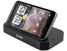 Desktop Stand Sync Charge Dock Cradle w Extra Battery Slot for HTC Thunderbolt
