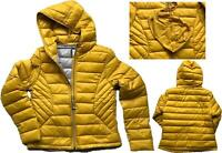NEXT Ladies OCHRE MUSTARD Packaway Padded Puffa Duck Down Coat Jacket £50 6 - 24
