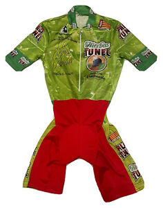 Cycling Skinsuit Mallorca Hierbas Tunel 1898-1998 Ethe-Ondo Size M / L NLV