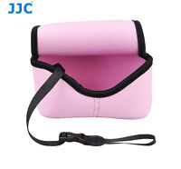 Pink Camera Pouch Case Bag fits Sony A6500 A6400 A6300 A6000 A5100 +16-50mm Lens