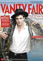 Vanity Fair Magazine Robert Pattinson JFK Jr. William Styron Christopher Poole