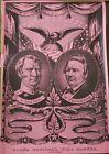 "VINTAGE 1967 POLITICAL POSTER~Zachary Taylor Millard Fillmore 1849 20x29"" NOS~"