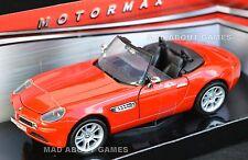 BMW Z8 ROADSTER 1:24 Scale Metal Diecast Model Die Cast Models Cars Miniature