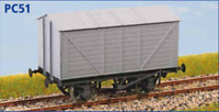 Private Owner Grain Wagon - OO gauge - Parkside PC51