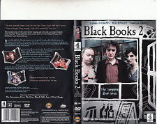 Black Books 2-The Complete Second Series-2000/4-TV Series UK-[6 Episodes]-DVD