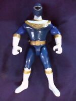 VINTAGE 1996 Power Rangers ZEO * BLUE RANGER ZEO Figure  original #2