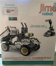 Jimu Robot BuilderBots Kit: Overdrive Kit (NEW Sealed)