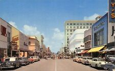 FL - 1950's Florida Clematis Avenue in West Palm Beach, FLA