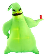 Disney Green Oogie Boogie WITH DICE 10.5 ft. Lit Inflatable Halloween Decoration