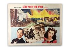 """""""GONE WITH THE WIND"""" ORIGINAL 11X14 AUTHENTIC LOBBY CARD PHOTO POSTER 1954 #17"""