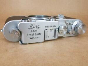 Leitz Leica III Chrome Body 1936