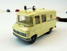 Wiking MB L406 Rettungswagen Johanniter-Unfall-Hilfe Blaulicht LED H0 1:87