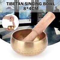Antique Design Tibetan Singing Bowl for Meditation Relaxation Healing Tool Set