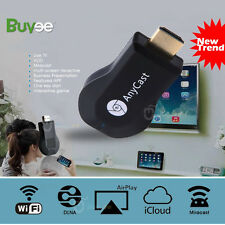 ALLCAST MEDIA PLAYER TV STICK  HDMI WiFi DONGLE PUSH CHROME CAST USB - MAC & PC
