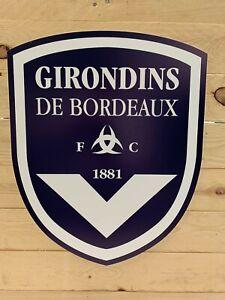 Enseigne Plaque décorative Club Football GIRONDINS DE BORDEAUX
