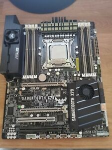 Asus sabertooth X78 Motherboard, Intel I7 4820K cpu