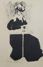 Jacques VILLON (d'après) -  L'attente - Croquis signé  #1959