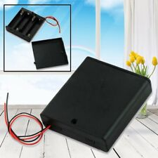 20Pc 4AA 6V Battery Holder Connector Storage Case Box Switch ON/OFF W/Lead Wire