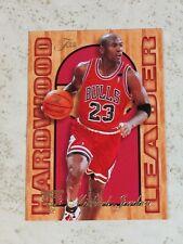 Michael Jordan Chicago Bulls 1995-96 Fleer Flair Hardwood Leaders