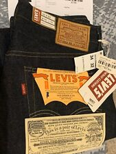 Brand New Levis Vintage Clothing LVC 54501 Ridged W34L32 Made In USA