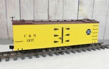 BACHMANN / COLORADO and SOUTHERN WOOD-SIDED REEFER