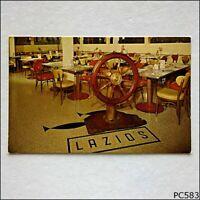 Lazio's Seafood Restaurant On Humboldt Bay Eureka California Postcard (P583)