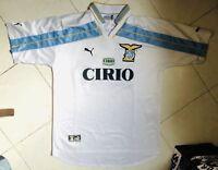 Maglia Shirt Calcio Lazio Centenario Cirio Puma Nesta #13 Worn