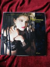 "Madonna BORDERLINE Vinyl GOLD STAMP PROMO Record LP 12"" Single Dance DJ Radio"