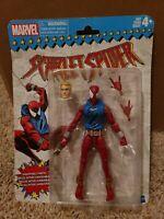 """Marvel Legends Retro Vintage Scarlet Spider Hasbro 6"""""""