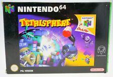 Tetrisphere - komplett in OVP Nintendo 64 N64 boxed CIB