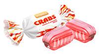 "Ukrainian Sweets ROSHEN Hard Candies Caramel ""Crabs"" Cocoa Peanuts 200g / 7 oz"