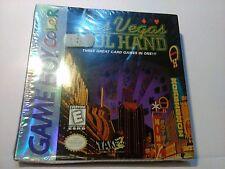 Las Vegas Cool Hand Original Nintendo Game Boy Color (DMG P ACWE) New/Sealed