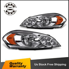 For 06 13 Chevy Impala 07 Monte Carlo Headlight Headlamps Replacement Leftright Fits 2006 Impala