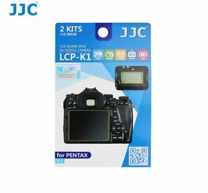 JJC LCP-K1 LCD Screen Protector Protection Guard Film for PENTAX K-1 camera