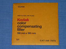 Kodak Wratten Filter  100x100  CC 10G