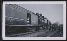 1960 Grand Trunk Western GTW Rwy Express Agency Car #8529 - B&W Railroad Photo