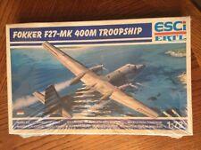 Esci Ertl Fokker F27-MK 400M Troopship Model Kit
