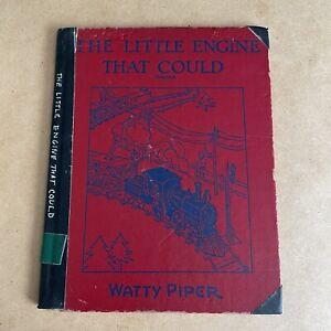 Antique 1930 The Little Engine That Could Watty Piper Platt & Munk Co HC