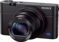 Sony DSCRX100M3/B Digital Camera - Black - 20.1MP f1.8-2.8 24-70mm Carl Zeiss le