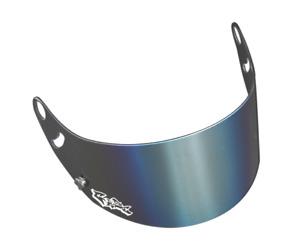Arai Gaze Silver Iridium Visor for Arai GP6 / SK6  Helmets - Brand New & Genuine