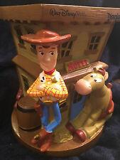 TOY STORY DISNEY PIXAR PIGGY BANK PLASTIC Walt Disney Used WOODY