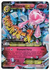 Pokemon XY44  MEGA M Diancie EX Holo Foil OVERSIZED JUMBO Size Promo Card