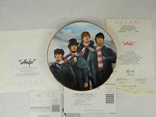 The Beatles Help Bradford Exchange DELPHI Plate