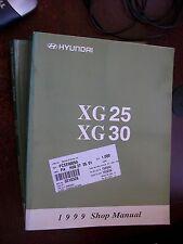 Hyundai XG XG25 XG30 1999 : SHOP MANUAL
