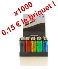 Lot de 1000 Briquets Jetables avec Sécurité Enfant - 0,15 € Le Briquet !