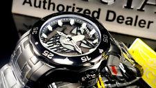 New listing Invicta 48mm Men LE DC Comics JOKER Pro Diver Scuba TRIPLE Black Bracelet Watch