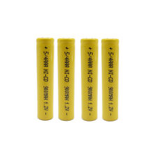 4 PILES ACCU RECHARGEABLE 5/4 AAA 3A 900mAh 1.2 Ni-Cd BATTERY BATTERIE