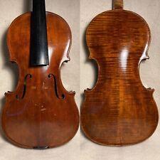 Old Antique Czech Violin C.1910