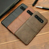 Leather Wallet Card Slot Pocket Case Cover For Samsung Galaxy Note 10 S10 S9/S8+